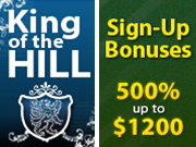 King of the Hill en Bonus bij BestPoker